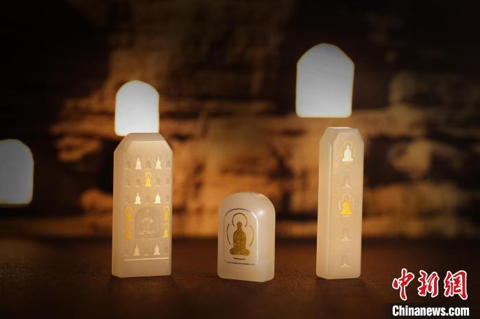 敦煌研究院推出首批文创珠宝产品 玉顺行供图