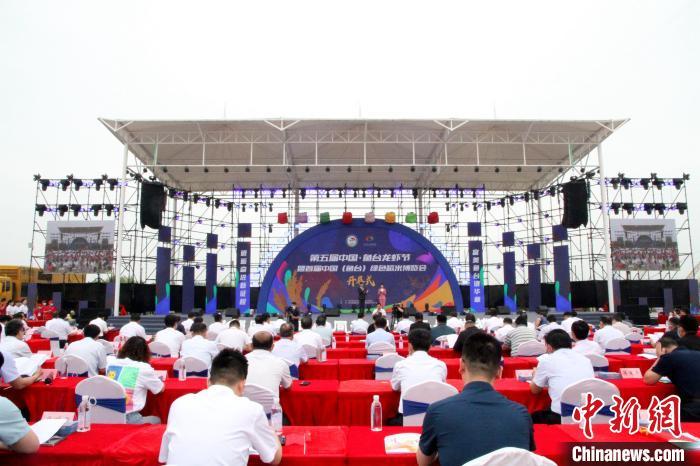 """山东鱼台""""龙虾村""""""""藕虾共作""""助农增收致富"""