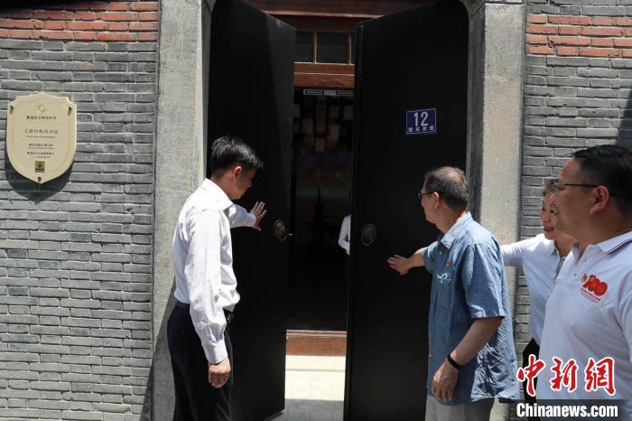 又新印刷所旧址修缮后开放 上海黄浦 供图