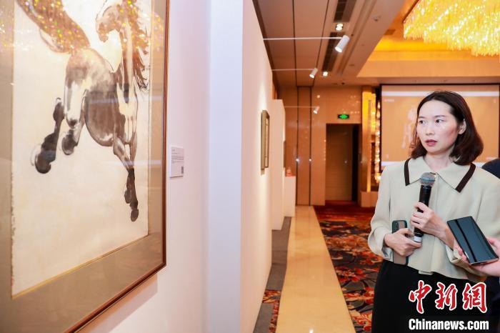 徐悲鸿5幅原作上线拍卖《天马行空》首次面世