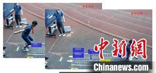 """全程""""陪练""""即时反馈  AI操场在南京学校投用"""