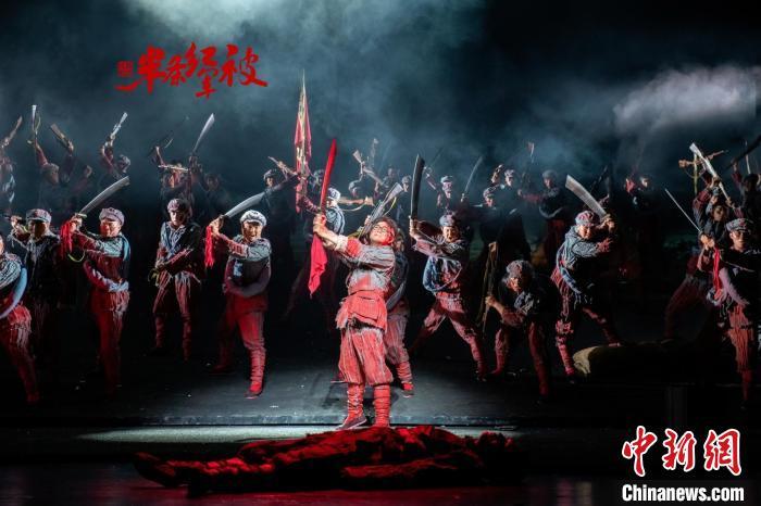 国剧《半条红军被》广州大剧院演出