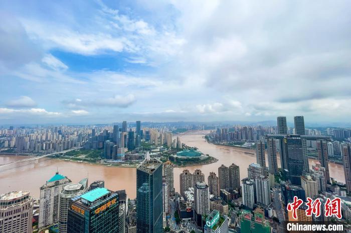图为重庆主城区。 邹乐 摄