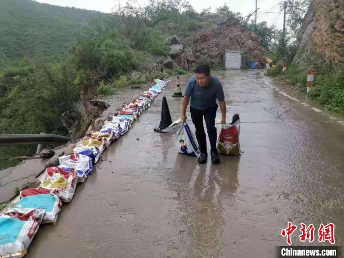 河北磁县最大降雨达430.8毫米 转移群众2103人