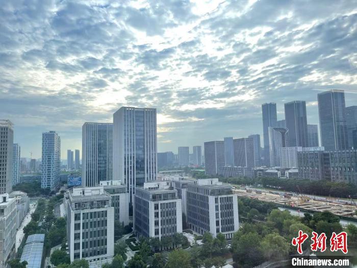 杭州未来科技城。 张煜欢 摄