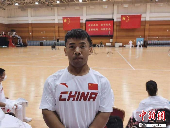 通讯:专访中国残疾人运动员孙鹏祥:期望东京残奥会夺金