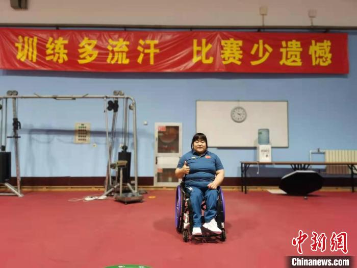 通讯:专访中国残疾运动员徐立立:在东京残奥会上给奖牌换个颜色