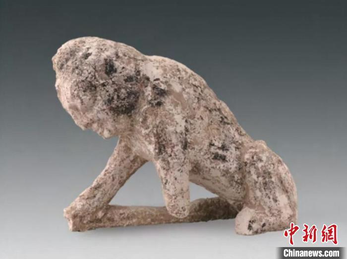 木镇墓兽 山西省考古研究院供图