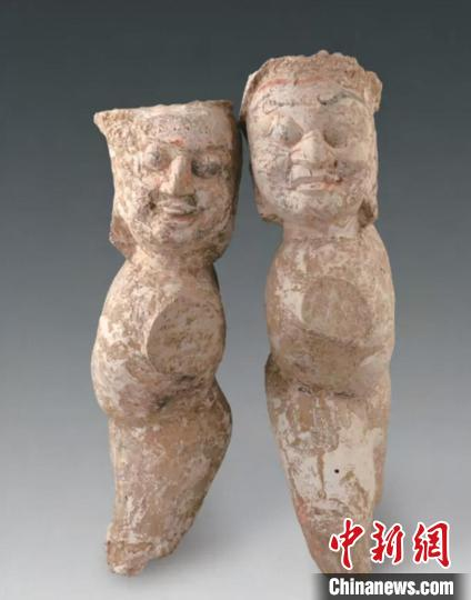 木镇墓俑 山西省考古研究院供图