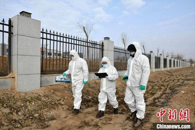 """2020年11月,甘肃举办""""陇原行动""""甘肃2020年核与辐射事故综合应急演习。(资料图) 甘肃省生态环境厅供图"""