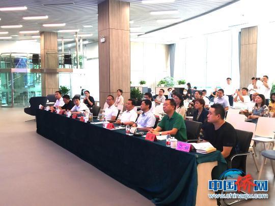 中国侨网2021创业之桥——第十八届海外人才常州创新创业邀请赛决赛在常州科教城举行。 曹梦旭 摄