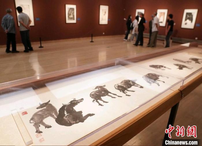 河山幸有君!70余幅李可染画作精品亮相中国美术馆