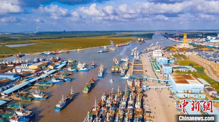 中国黄海·黄沙港开渔节开幕 渔民祭海祈福