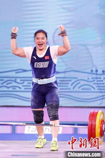 <font color='59'>女子举重76公斤级赛场两人超世界纪录 里约奥运冠军</font>
